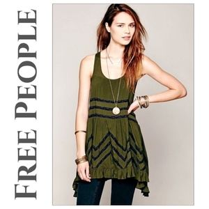Free People | Voile & Lace Slip Dress SP